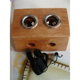Moxa Roll Burner Box (Twin Holder)