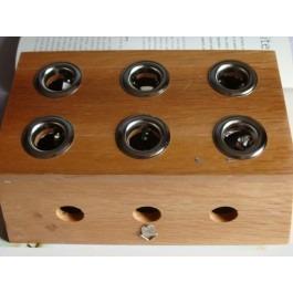Moxa Roll Burner Box (six moxa Holder)